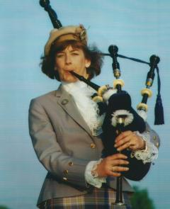 Nancy Tunnicliffe Bagpiping
